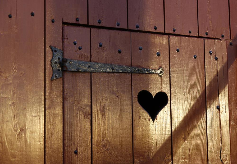 Eine Tür zum Herzen