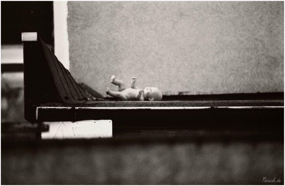 Eine verlorene Puppe