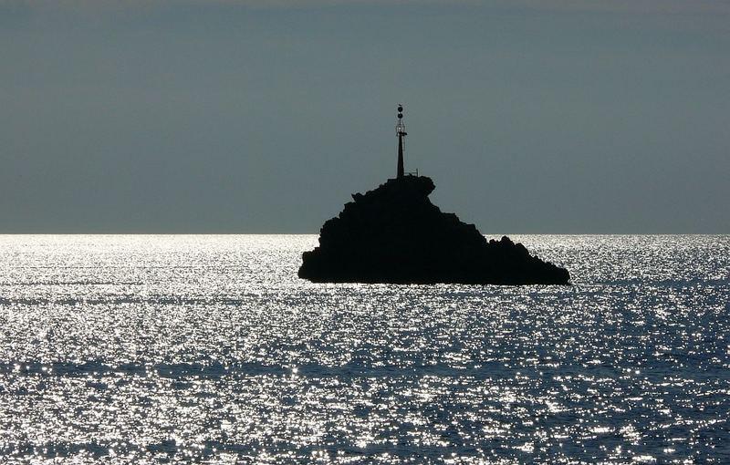 eine von unzähligen kleinen Inseln.......