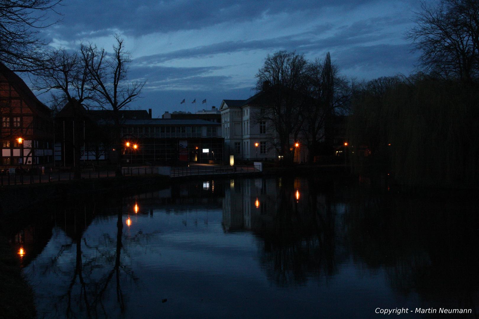 Eine warmer Abend im Frühling 2013...