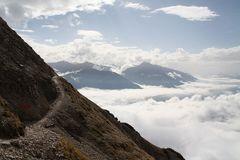 Eine weitere Impression vom Abstieg von der Reither Spitze...