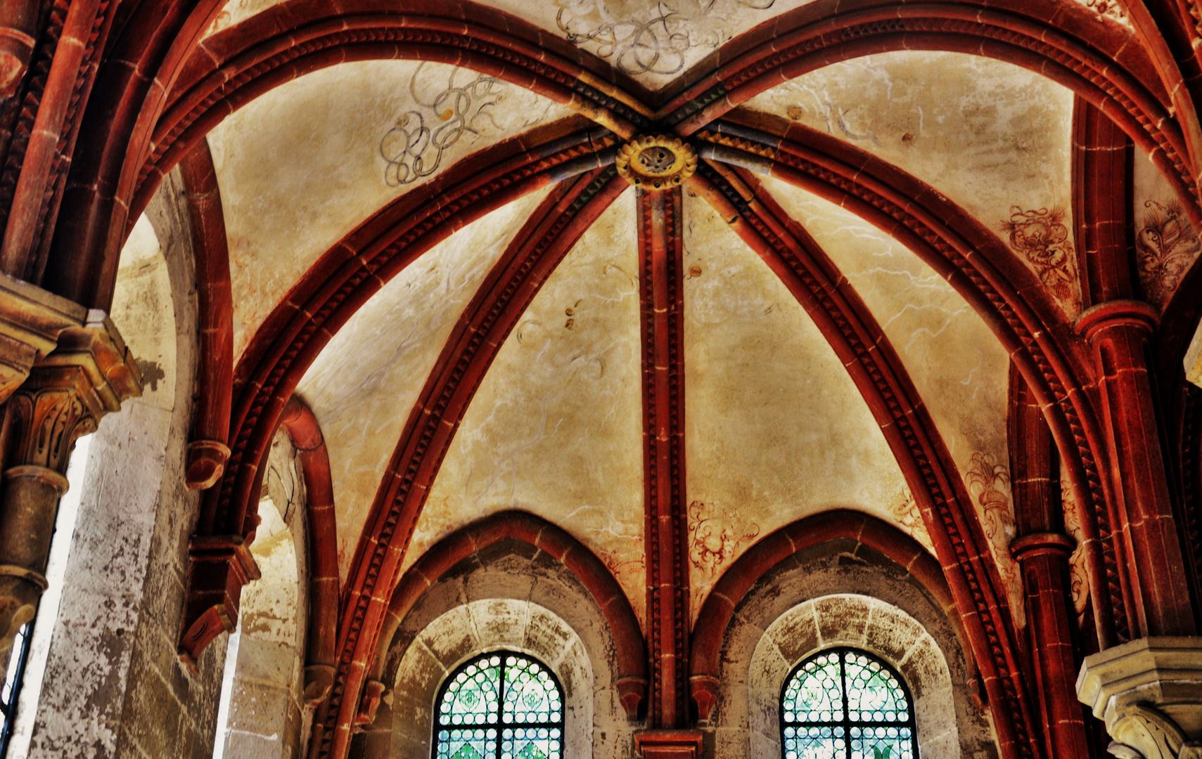 eine weitere Innenansicht des Klosters Maulbronn 6