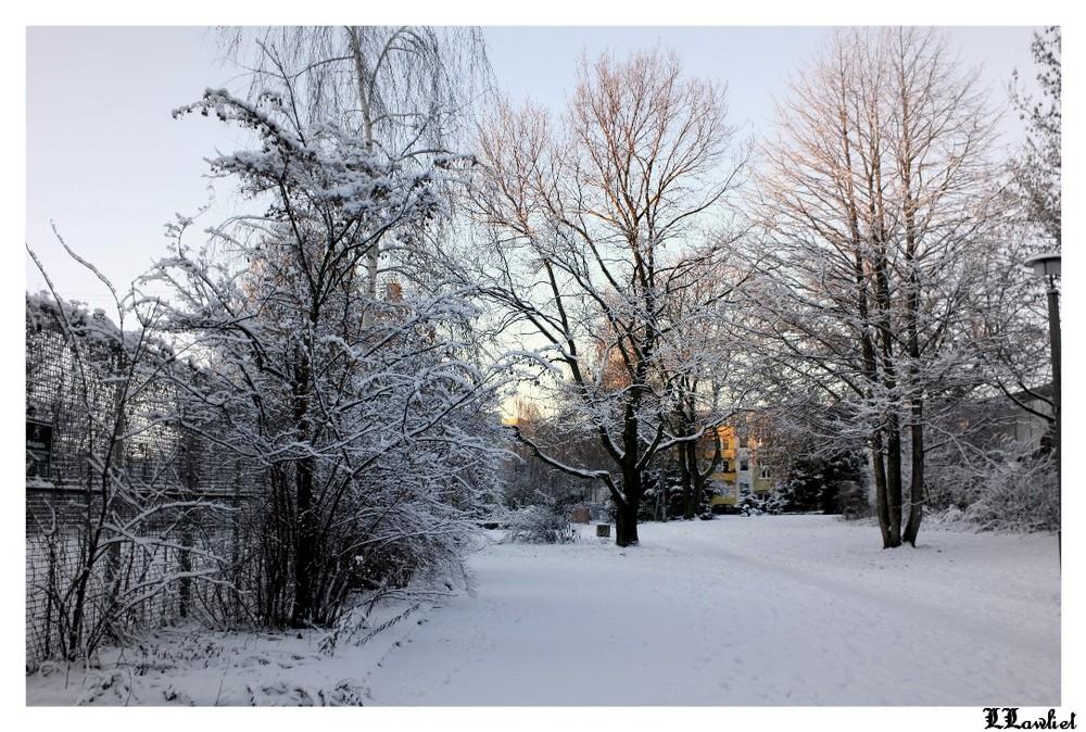 Eine Winterkulisse