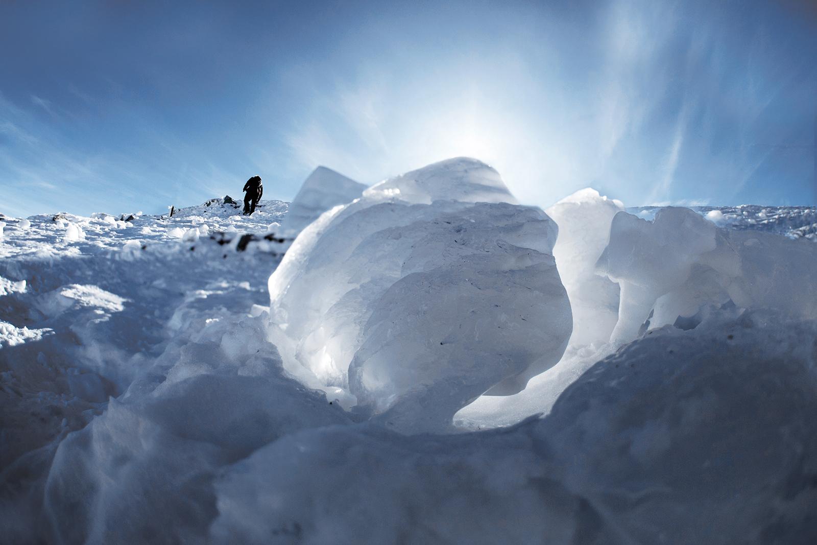 Eine Winterlandschaft