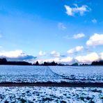 Eine Winterlandschaft a.d. Fildern