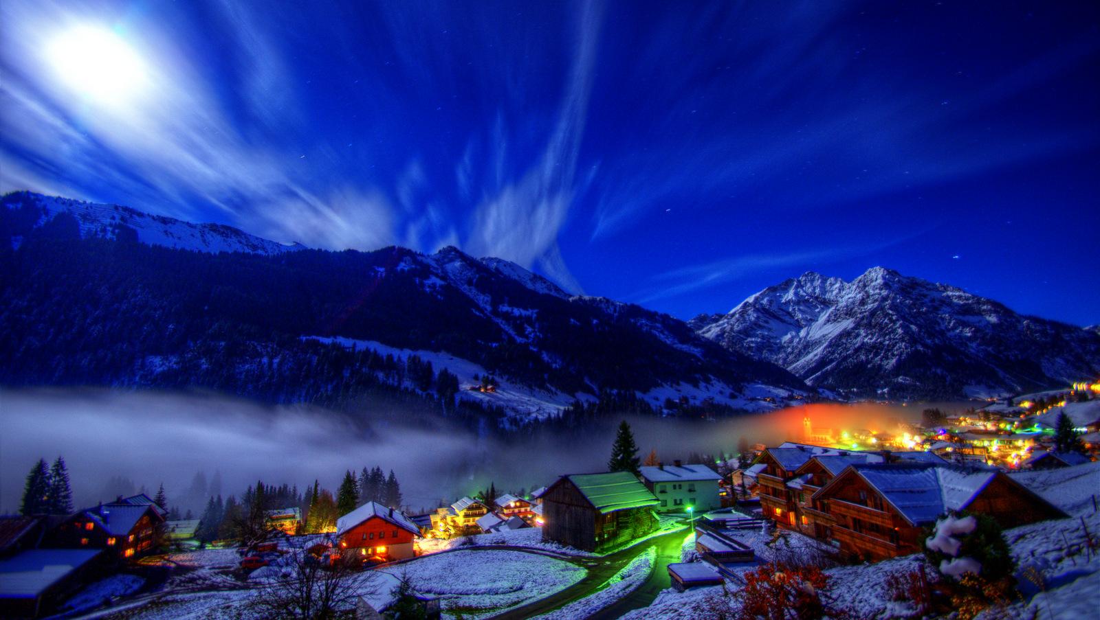 Eine Winternacht
