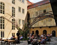 """... eine wunderbare """" Location """" mitten in Prag -"""