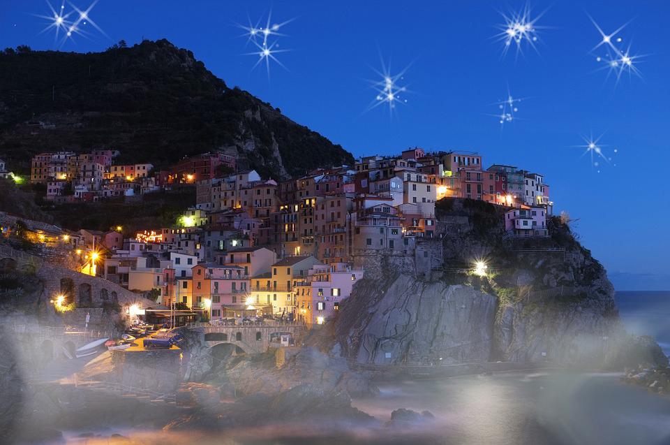eine wunderschöne nacht Foto & Bild | landschaft