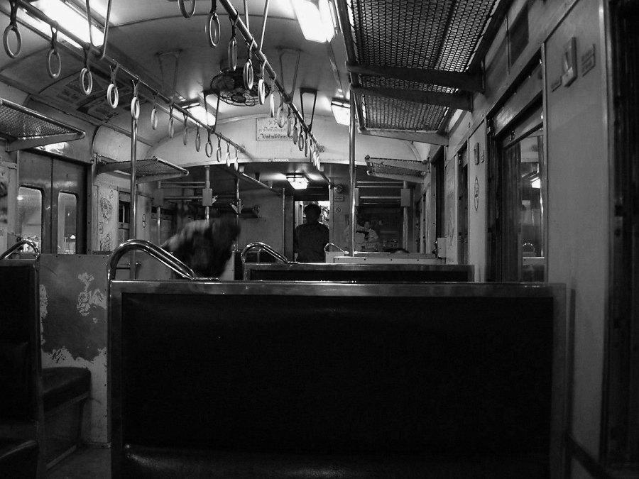 eine Zugfahrt, die ist lustig....