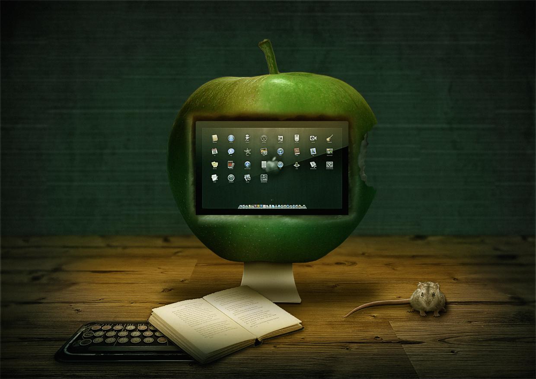 Einen Apple haben....