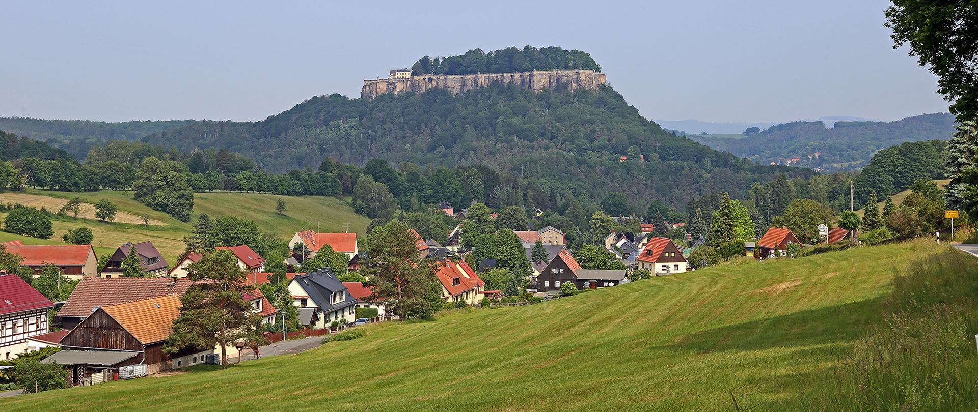 Einen der Klassiker in der Sächsischen Schweiz im Juni aufgenommen