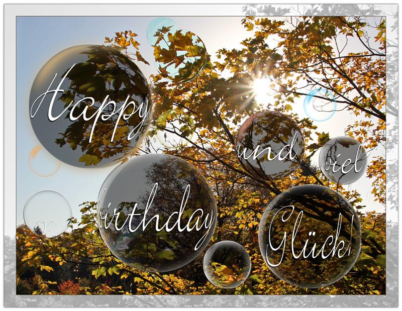 Einen Frohlichen Geburtstagsgruss Foto Bild Gratulation Und