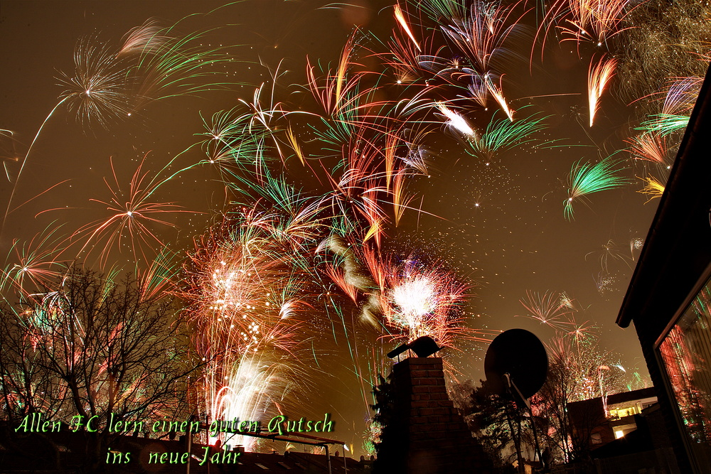Einen guten Rutsch ins neue Jahr. Foto & Bild   landschaft, motive ...