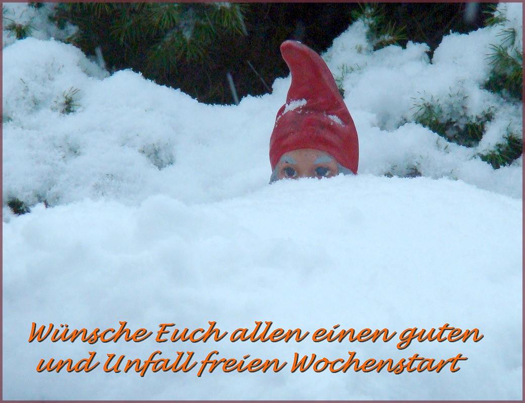 Einen Guten Wochenstart Foto Bild Jahreszeiten Winter Natur