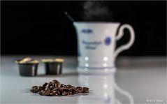 Einen Kaffee......