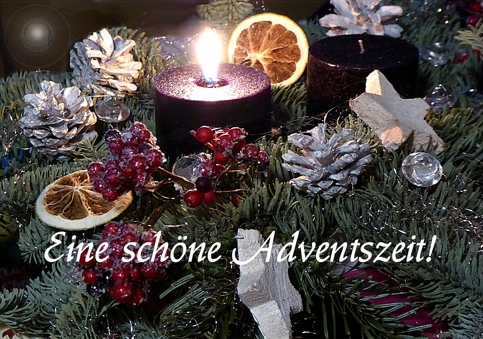 einen sch nen 1 advent foto bild spezial advent. Black Bedroom Furniture Sets. Home Design Ideas