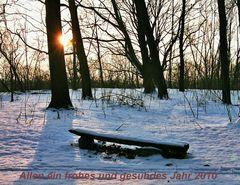 Einen schönen Jahreswechsel...