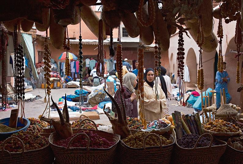 Einen Tag am Markt