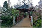 einer der Eingänge im japanischen Garten in Leverkusen II