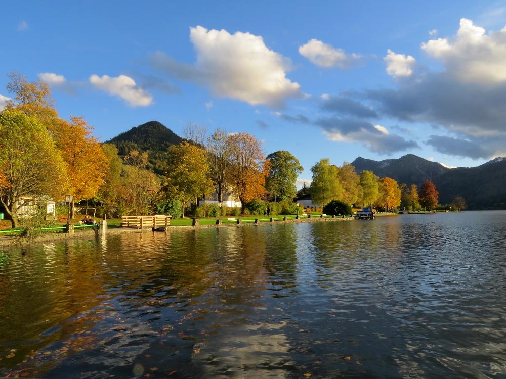 .. einer der letzten schönen Herbsttage am Schliersee