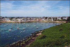 Einer der netten Orte in der Bretagne