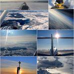 Einer schöner erster Tag im Schnee-Flug....:-)