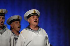 Einer vom Chor der Schwarzmeerflotte