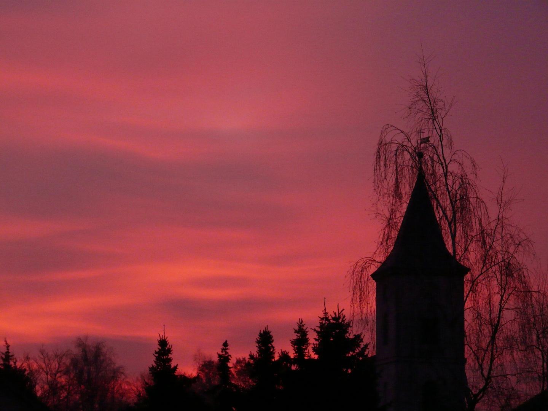 einer von vielen tollen Sonnenaufgängen