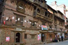Eines der ältesten Häuser in Kathmandu