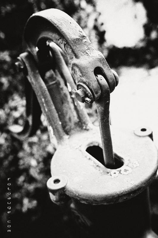 einfach mal eine alte Pumpe