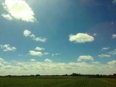 Einfach mal nur Wolken schauen...