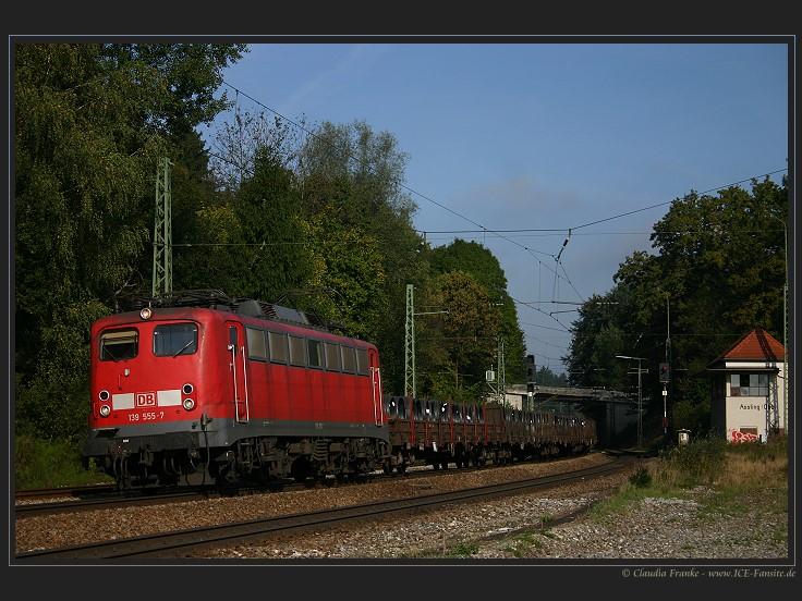 Einfach nur die Baureihe 139 in Assling (Obb)
