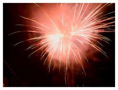 Einfach nur ein nettes Feuerwerk