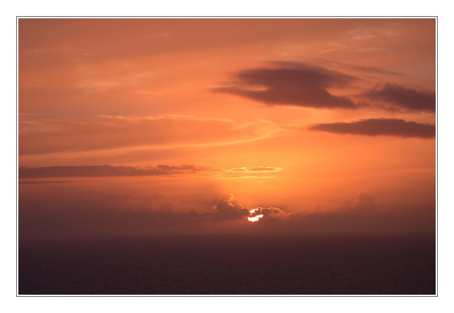 ...einfach schön, diese Sonnenuntergänge