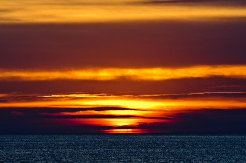 Einfach Sonnenuntergang...
