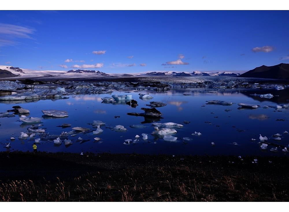 ... einfach traumhaft: der Gletschersee Jökulsárlón