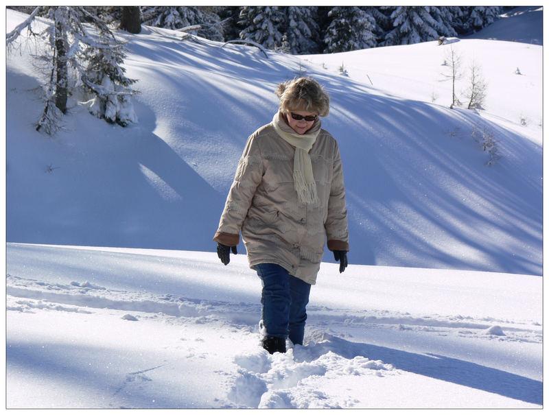 Einfach zu viel Schnee...
