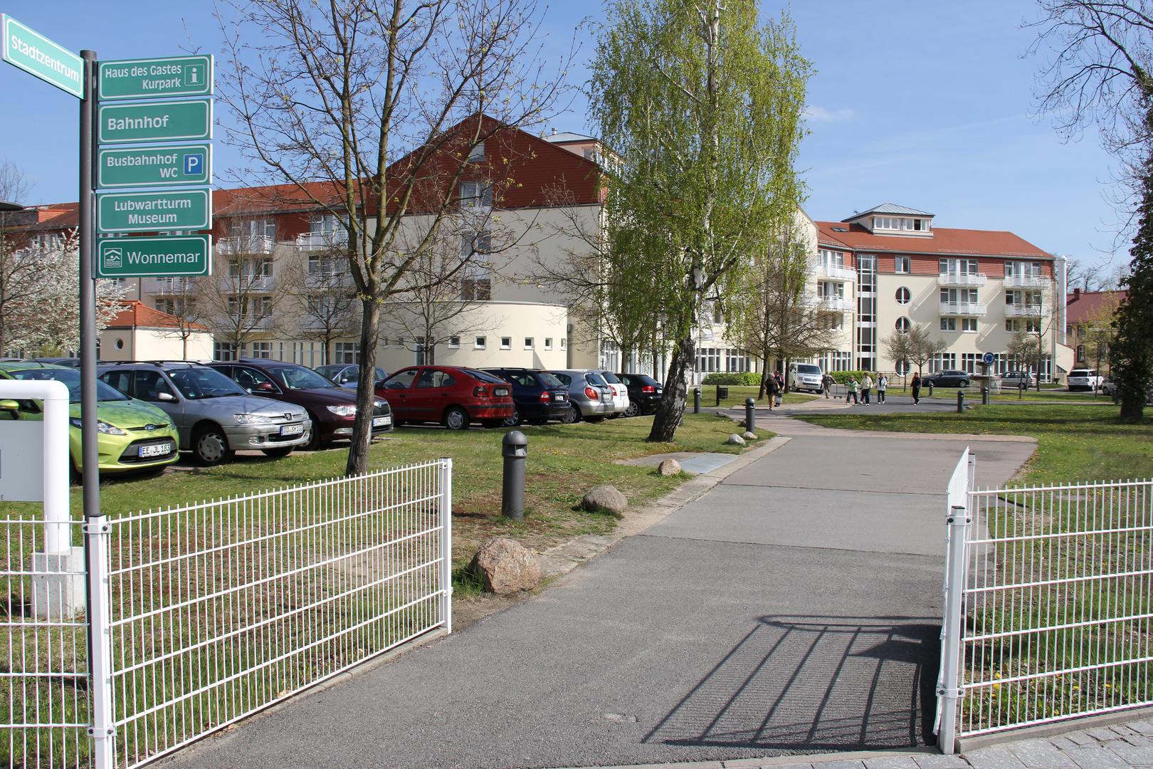 Einfahrt Fontana Klinik Bad Liebenwerda Foto & Bild