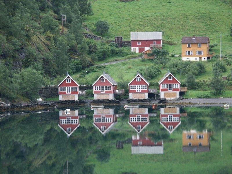 Einfahrt in den Aurlandsfjord