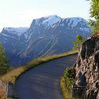 Einfahrt in Norwegen (Nähe Balestrand)