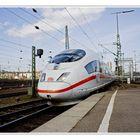 Einfahrt in Stuttgart HBF
