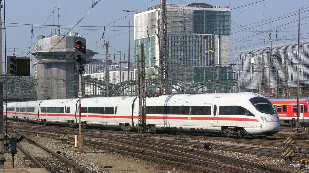 Einfahrt München Hbf