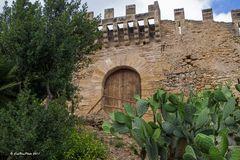 Eingang Castell de CapdePera