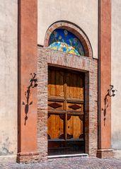 Eingang Chiesa Di Sant`Agostino