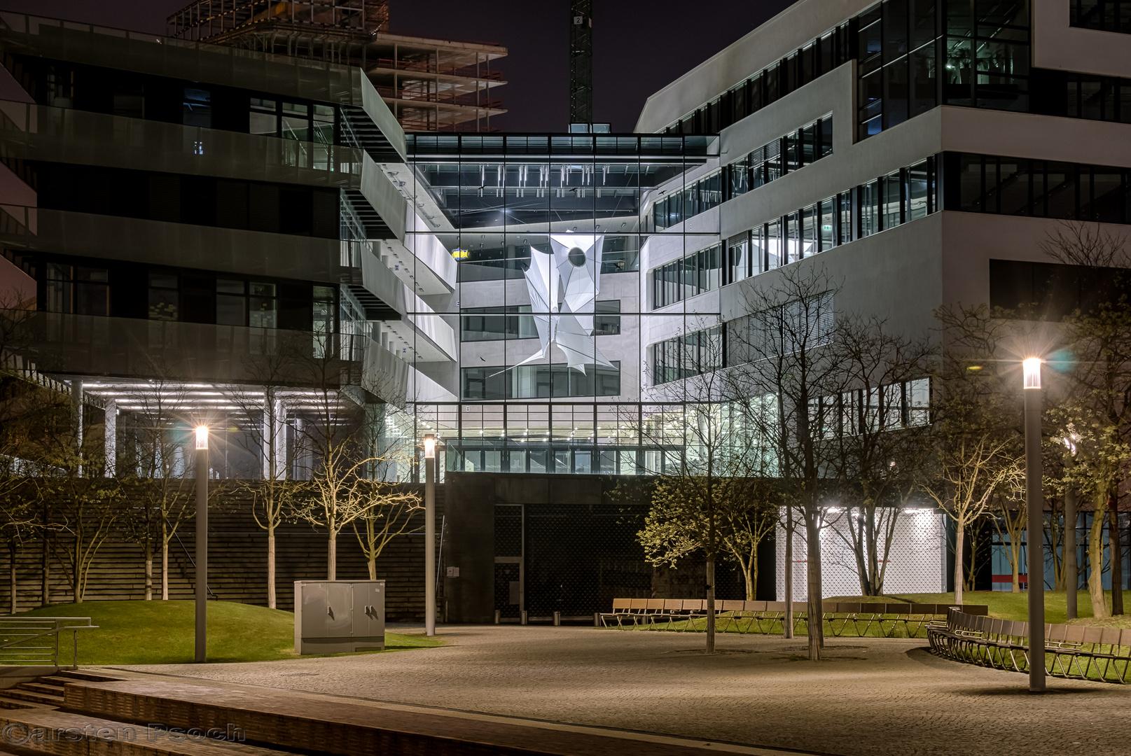 Eingang der Hafencity Universität