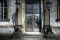 Eingang ins Schloss