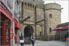 Eingang le Mont-Saint-Michel