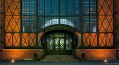 Eingang Maschinenhalle