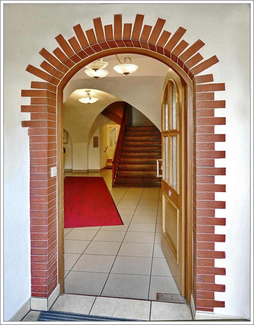 Eingang  Schlössle Finningen