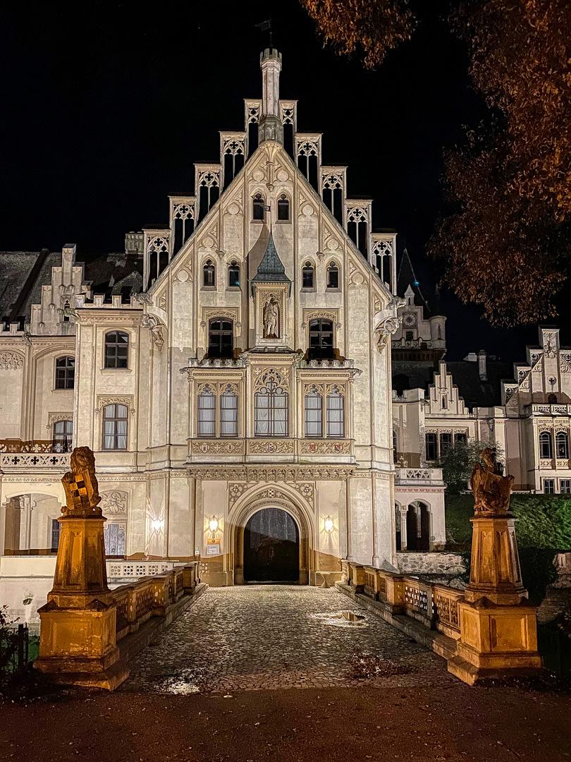 Eingang Schloss Grafenegg Niederösterreich